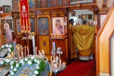 Divine Liturgy at Archangel Michael Russian Orthodox Church